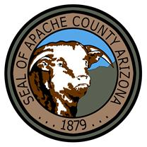 Apache County map